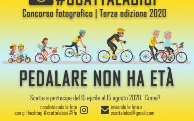 Al via il Concorso Fotografico #scattalabici 2020 Terza Edizione